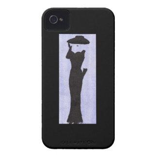 Funda Para iPhone 4 Mujer en negro