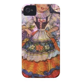 FUNDA PARA iPhone 4 MUÑECA ESPAÑA 2 DEL MUNDO