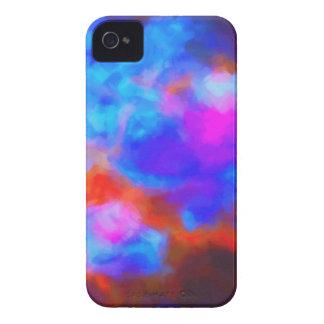 Funda Para iPhone 4 Nebulosa galáctica abstracta con la nube cósmica