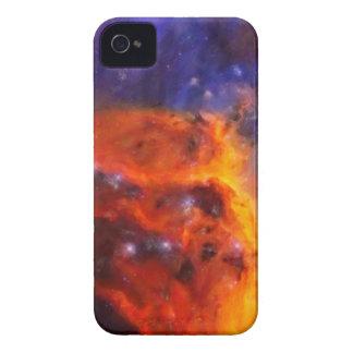 Funda Para iPhone 4 Nebulosa galáctica abstracta con la nube cósmica 5