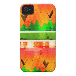 Funda Para iPhone 4 Papel pintado temático de la caída verde