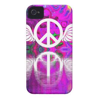 Funda Para iPhone 4 Paz y esperanza de la armonía del mundo humano