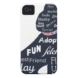 Funda Para iPhone 4 Perro azul