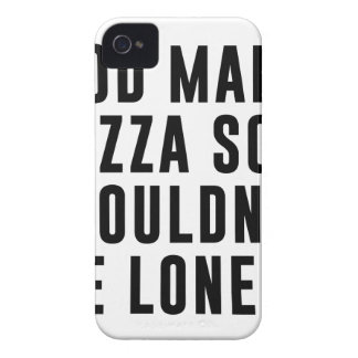 Funda Para iPhone 4 Pizza sola
