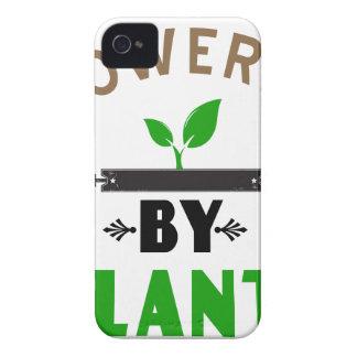 Funda Para iPhone 4 poder por diseño lindo de las plantas