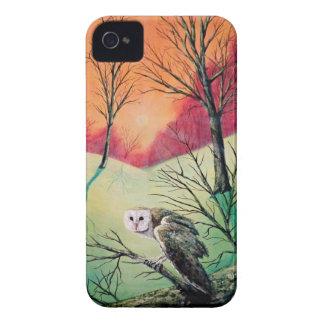 """Funda Para iPhone 4 Productos del búho que ofrecen a """"Soren: Búho de"""