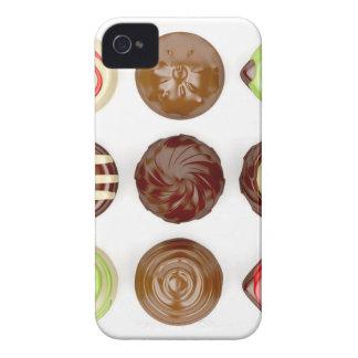 Funda Para iPhone 4 Selección de caramelos de chocolate