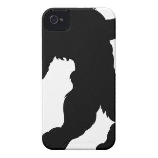 Funda Para iPhone 4 Silueta del hombre lobo