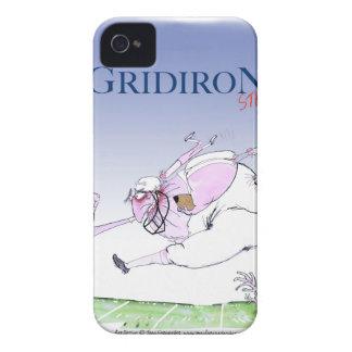 Funda Para iPhone 4 Steamroller del Gridiron, fernandes tony