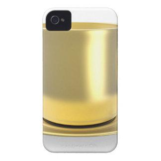 Funda Para iPhone 4 Taza de café de oro