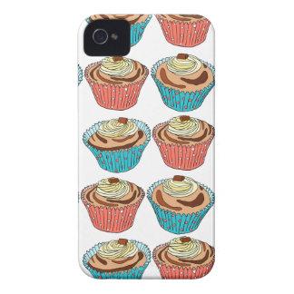 Funda Para iPhone 4 Tortas felices de la taza