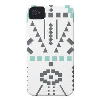 Funda Para iPhone 4 Tótem de Boho, símbolo étnico, Hippie, Azteca,