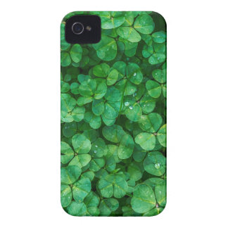 Funda Para iPhone 4 Tréboles afortunados de St Patrick