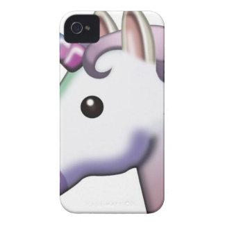Funda Para iPhone 4 Unicornio hermoso Emoji