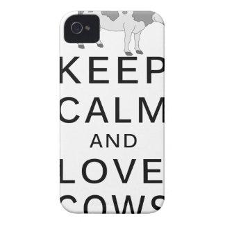 Funda Para iPhone 4 vacas del amor
