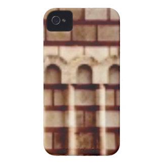Funda Para iPhone 4 ventana marrón del bloque