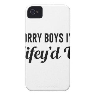Funda Para iPhone 4 Wifey'd para arriba
