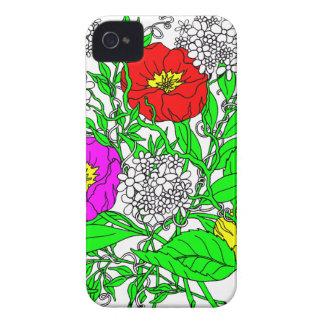 Funda Para iPhone 4 Wildflowers 2