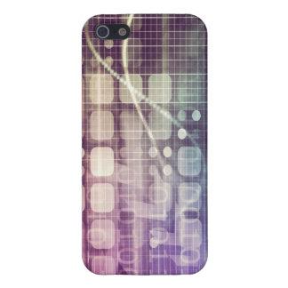 Funda Para iPhone 5 Concepto abstracto futurista en tecnología