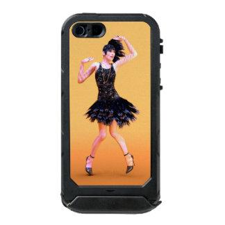 Funda Para iPhone 5 Incipio ATLAS ID flapper16_orange_pod