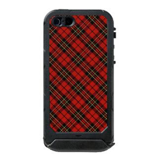 Funda Para iPhone 5 Incipio ATLAS ID Identificación roja clásica del ATLAS del iPhone