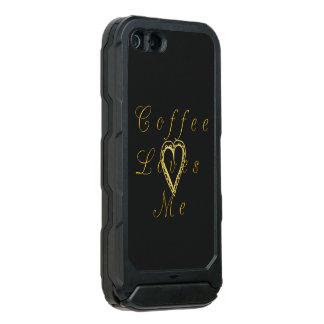 Funda Para iPhone 5 Incipio ATLAS ID Mi amor real para el café