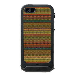 Funda Para iPhone 5 Incipio ATLAS ID Modelo azteca tribal del vintage