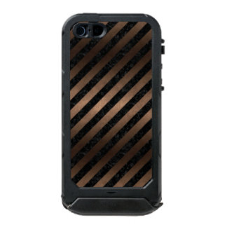 FUNDA PARA iPhone 5 INCIPIO ATLAS ID STR3 BK-MRBL BZ-MTL