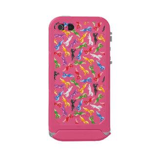 Funda Para iPhone 5 Incipio ATLAS ID Unicornio coloreado del modelo
