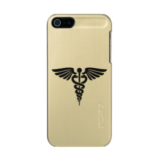 Funda Para iPhone 5 Incipio Feather Shine Caduceo médico