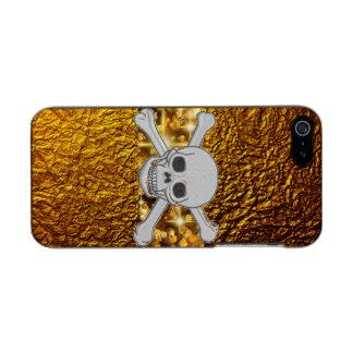 Funda Para iPhone 5 Incipio Feather Shine Caso de lujo del iPhone de Incipio del cráneo