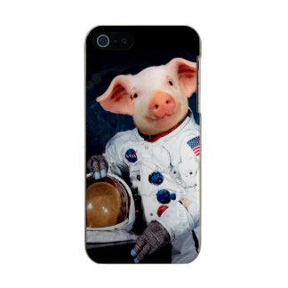 Funda Para iPhone 5 Incipio Feather Shine Cerdo del astronauta - astronauta del espacio