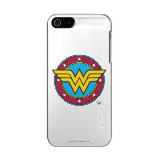 Funda Para iPhone 5 Incipio Feather Shine Círculo de la Mujer Maravilla el | y logotipo de