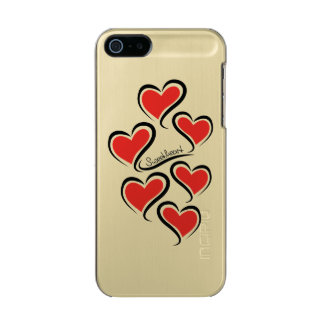 Funda Para iPhone 5 Incipio Feather Shine Mi tarjeta del día de San Valentín del amor