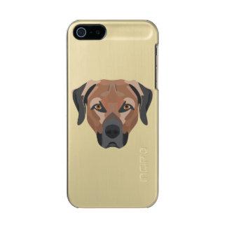 Funda Para iPhone 5 Incipio Feather Shine Perro Brown Labrador del ilustracion