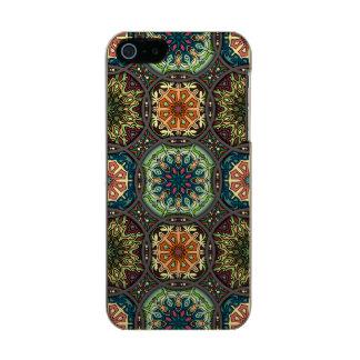 Funda Para iPhone 5 Incipio Feather Shine Remiendo del vintage con los elementos florales de