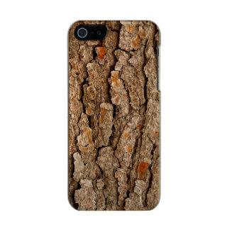 Funda Para iPhone 5 Incipio Feather Shine Textura de la corteza del pino