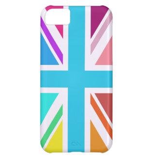 Funda Para iPhone 5C Bandera de unión/diseño de Jack - multicolor