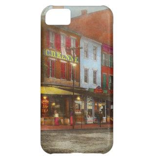 Funda Para iPhone 5C Ciudad - Washington DC - vida en 7mo St 1912