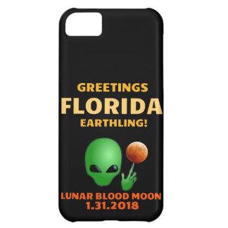 Funda Para iPhone 5C ¡Earthling de la Florida de los saludos! Eclipse