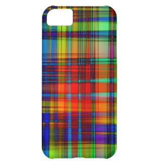 Funda Para iPhone 5C El extracto colorido raya arte
