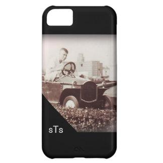 Funda Para iPhone 5C Monograma del paseo del coche de la diversión del