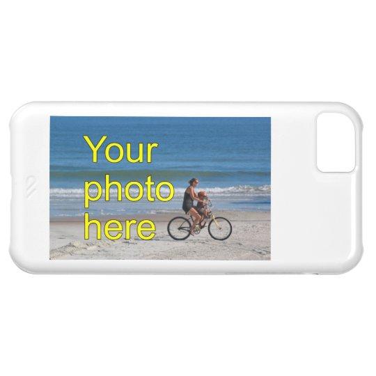 Funda Para iPhone 5C Plantilla de encargo custom la foto personalizada