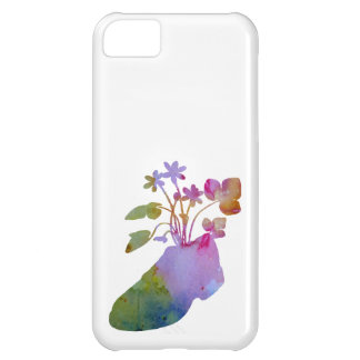 Funda Para iPhone 5C Shoeflowers