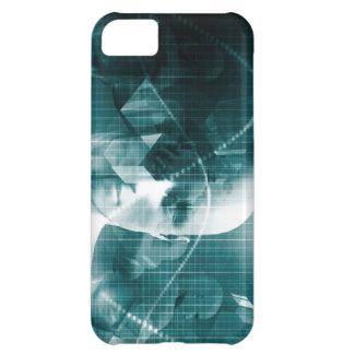 Funda Para iPhone 5C Tecnología futurista de la ciencia médica como