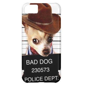 Funda Para iPhone 5C vaquero de la chihuahua - perro del sheriff