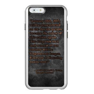 FUNDA PARA iPhone 6 PLUS INCIPIO FEATHER SHINE 20 DE ENERO PRES45