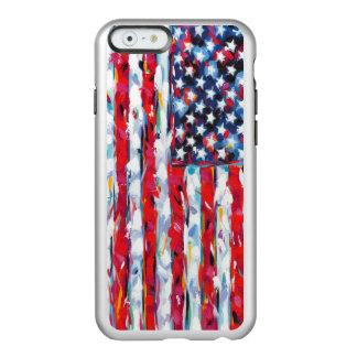 Funda Para iPhone 6 Plus Incipio Feather Shine Bandera americana