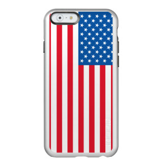 Funda Para iPhone 6 Plus Incipio Feather Shine Barras y estrellas de la bandera de los E.E.U.U.