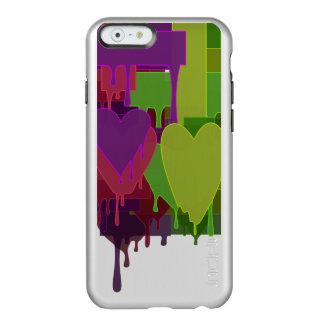 Funda Para iPhone 6 Plus Incipio Feather Shine Bloques del color que derriten corazones